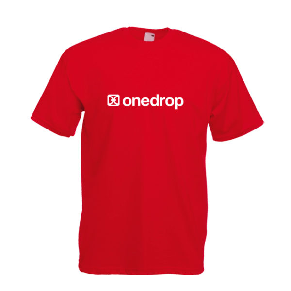 One Drop T-shirt Red