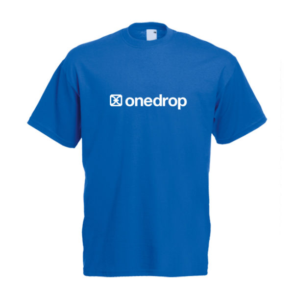 One Drop T-shirt Royal Blue