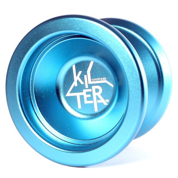Yoyofficer Kilter - Aqua Blue (Bead Blasted)