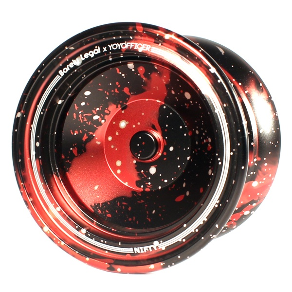 Barely Legal x Yoyofficer Nifty - Black / Red / Silver