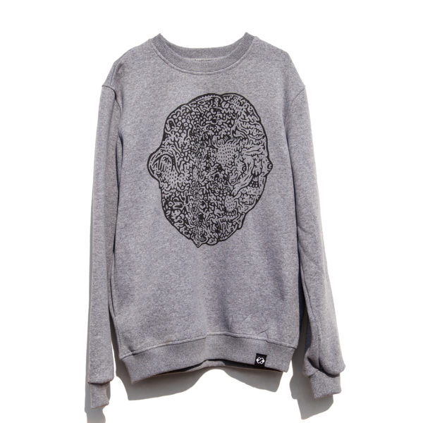 Knots Duns Broccoli Sweatshirt - Art 1