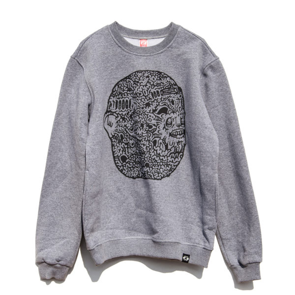 Knots Duns Broccoli Sweatshirt - Art 2
