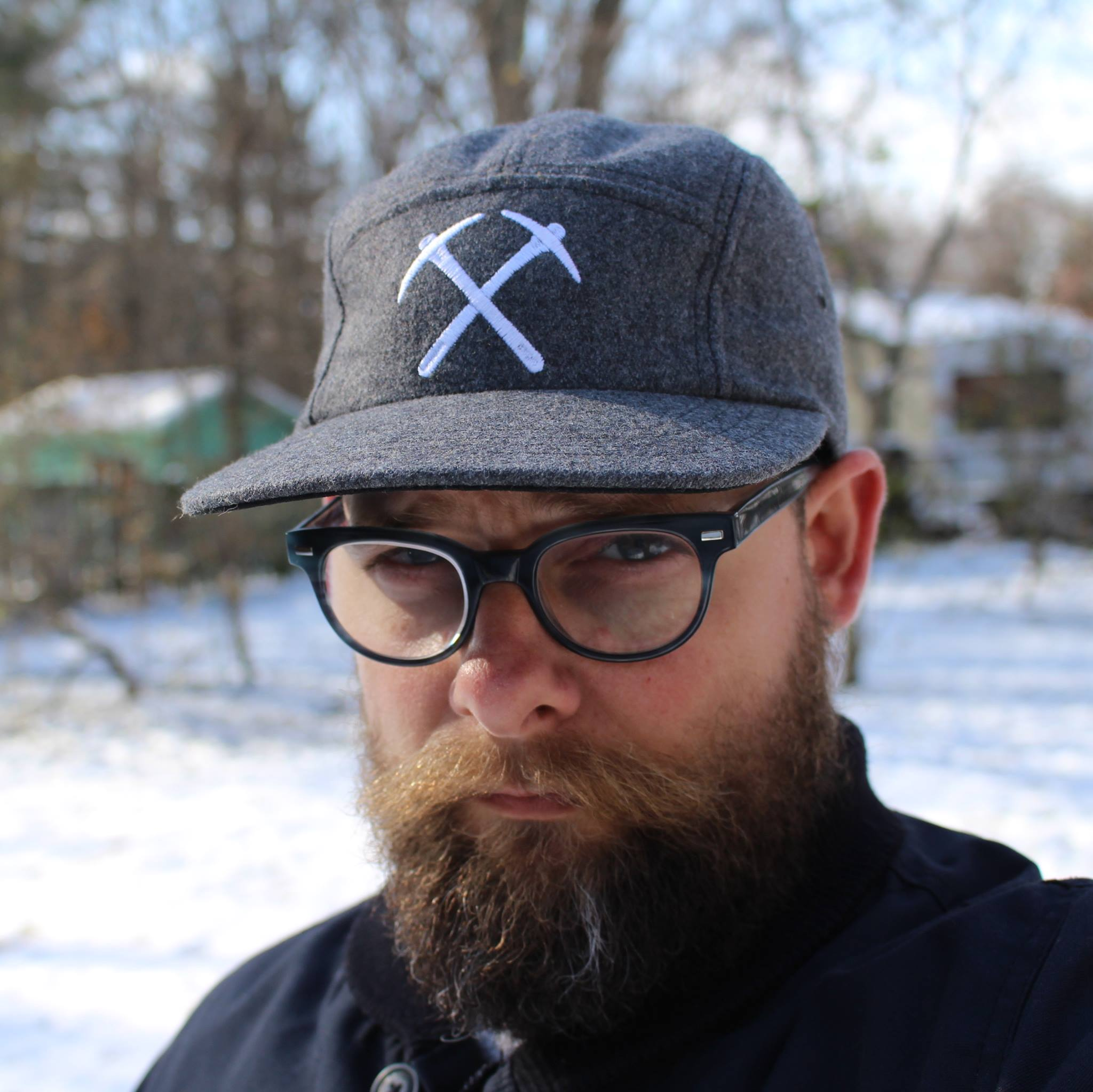 CLYW 5 Panel Hat - Gray Wooly
