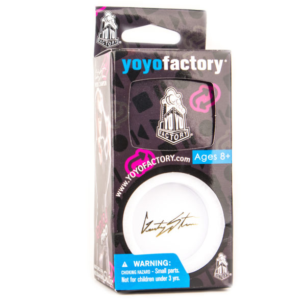 Yoyofactory Replay Pro - White w/ Gold signature