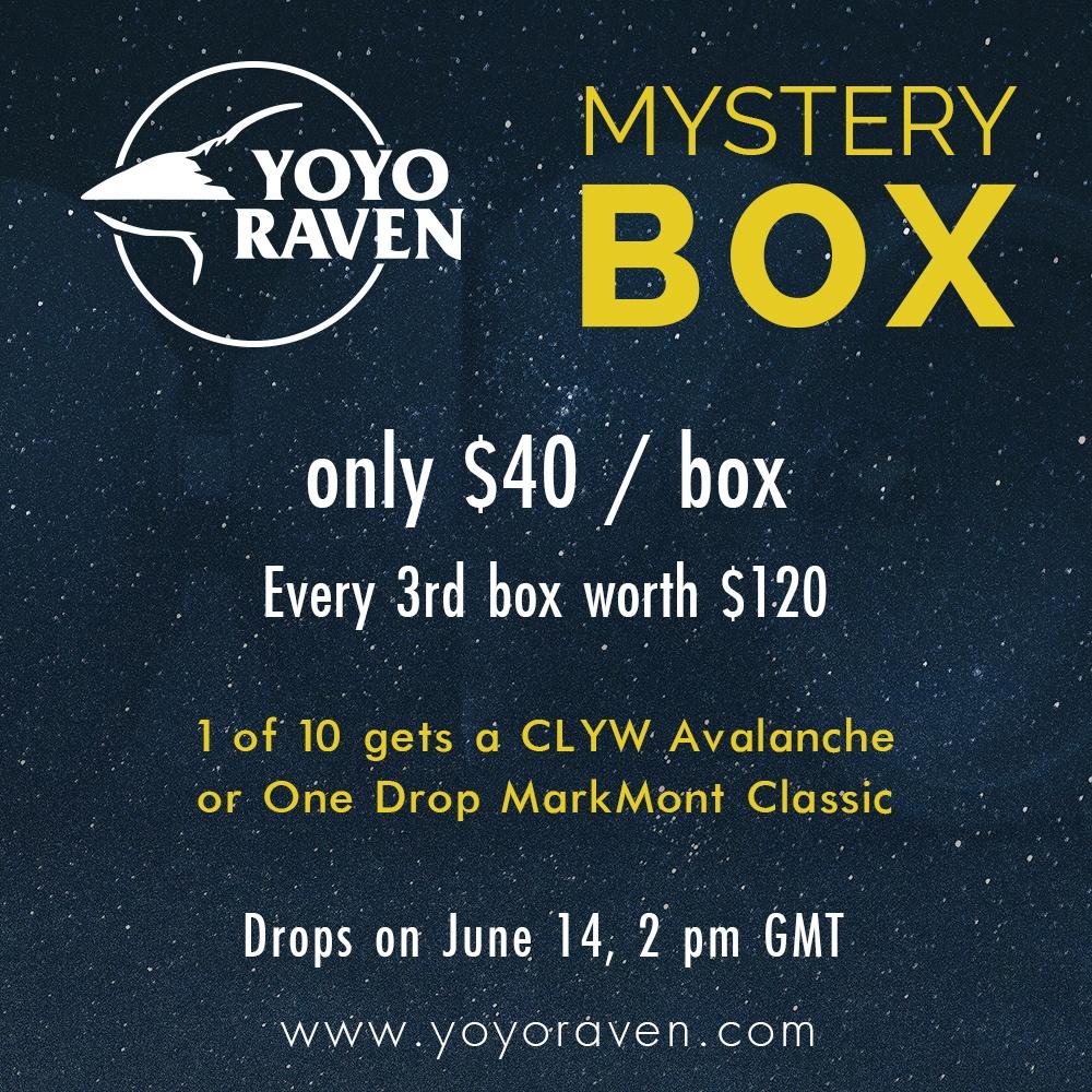 YoYoRaven Mystery Box 2015
