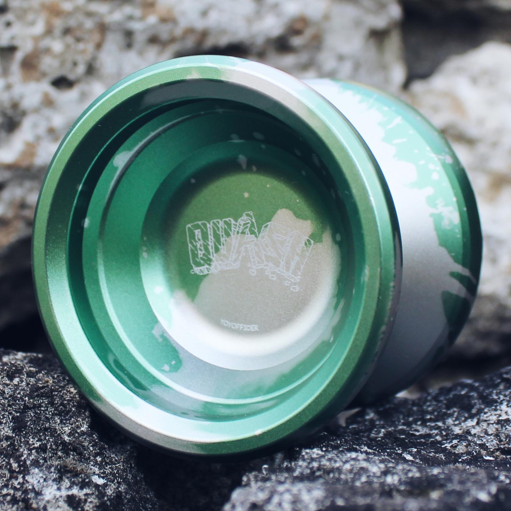 Yoyofficer Quash - Green / Silver