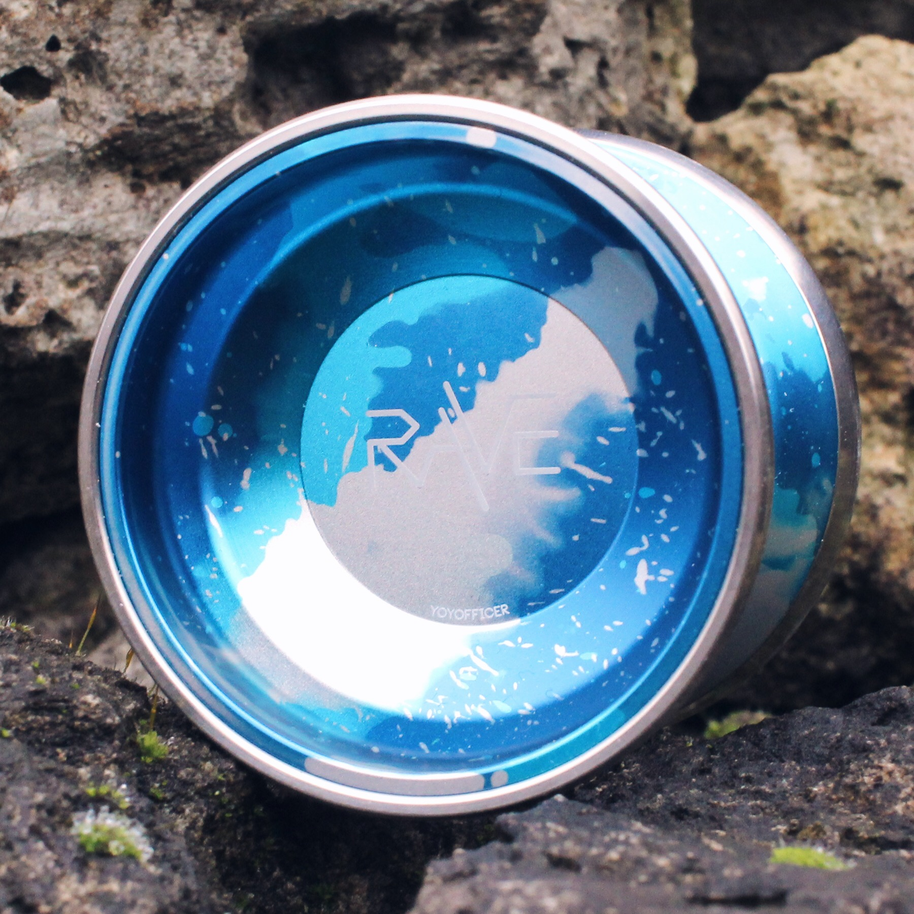 Yoyofficer Rave - Blue / Silver