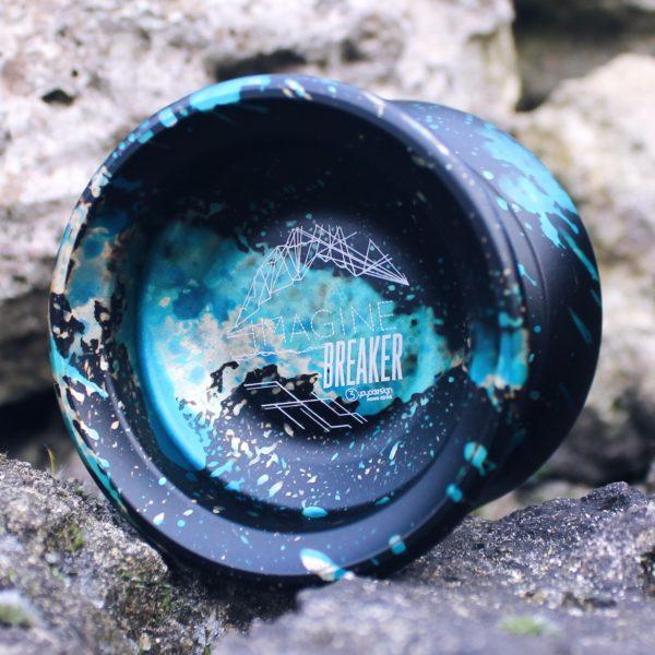 C3yoyodesign Imagine Breaker - Black / Blue / Yellow