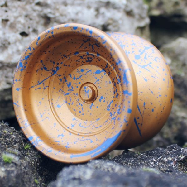 Yoyofficer Urban - Gold w/ Blue splash
