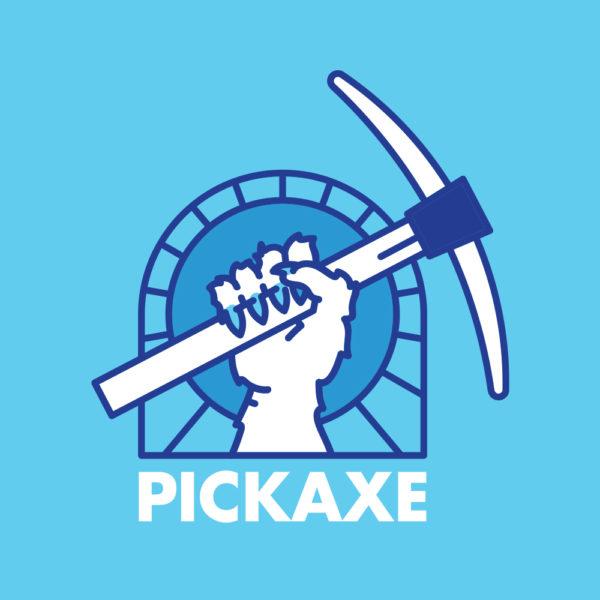 CLYW Pickaxe Logo