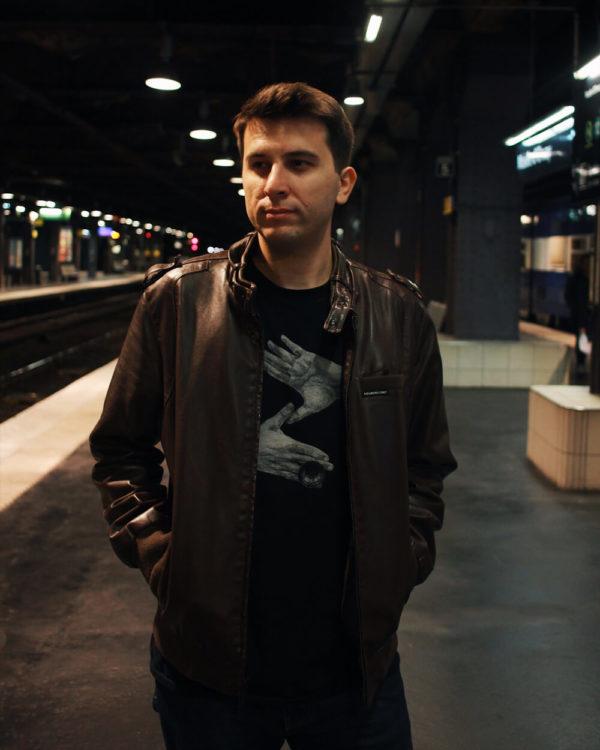 Zoltan T-shirt - Black