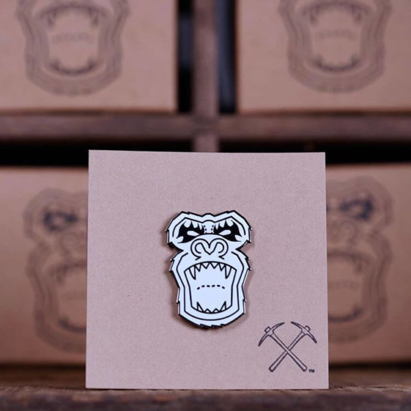 CLYW Metal Yeti Pin